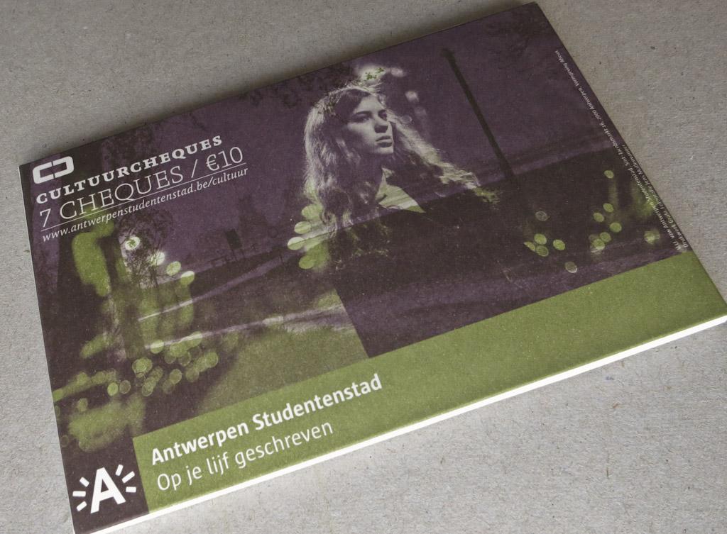 Cultuurcheques 2011-2012 | Antwerpen Studentenstad