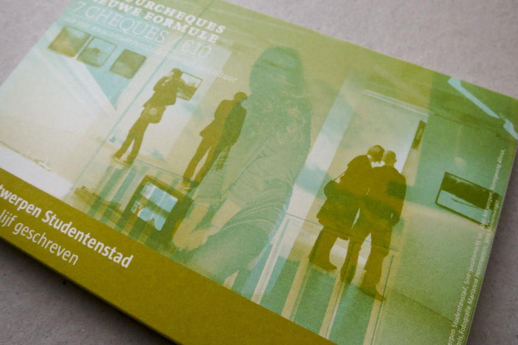 Cultuurcheques 2010-2011 | Antwerpen Studentenstad