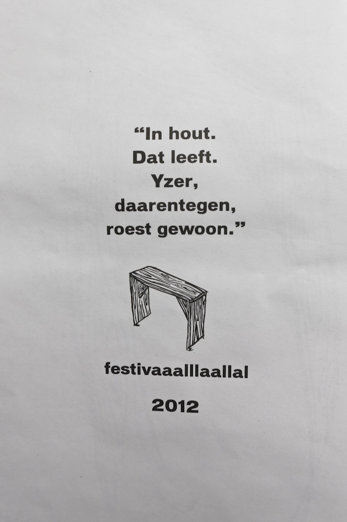 Festivaaalllaallal 2012 krant | Scheld'apen