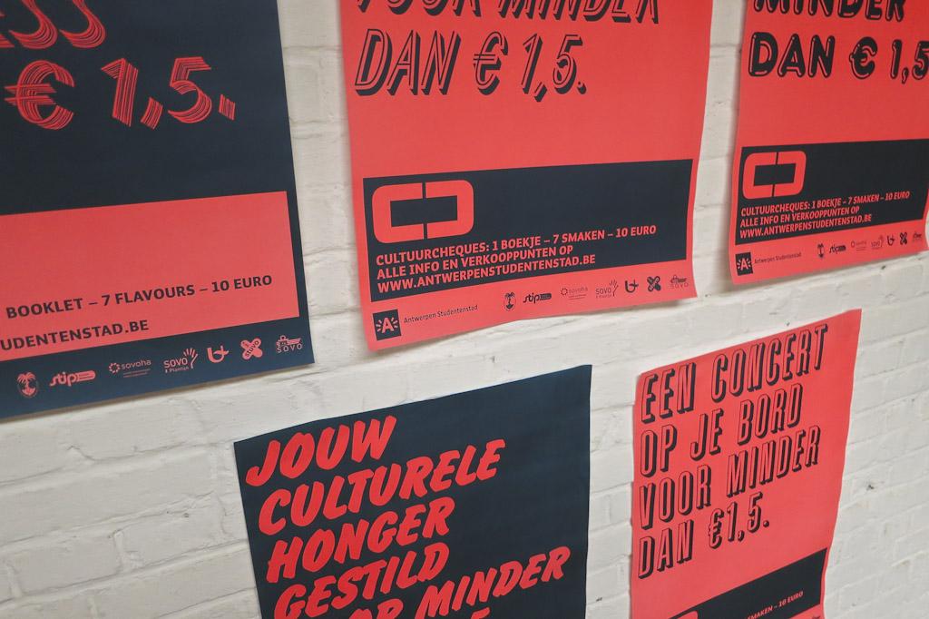 Cultuurcheques 2012-2013 | Antwerpen Studentenstad